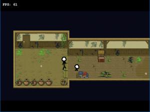 ゲーム内の玄関のスクリーンショット