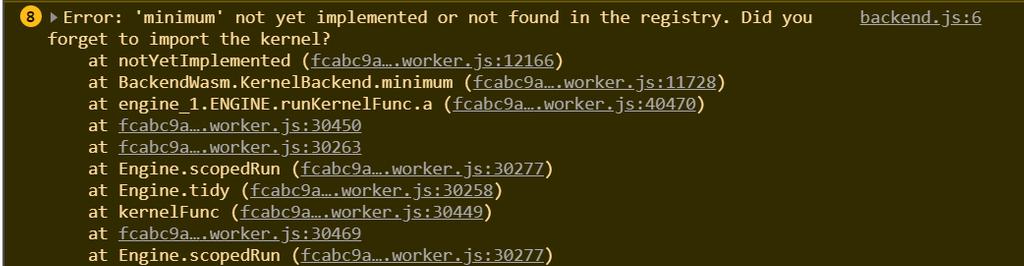 minimum-not-impl