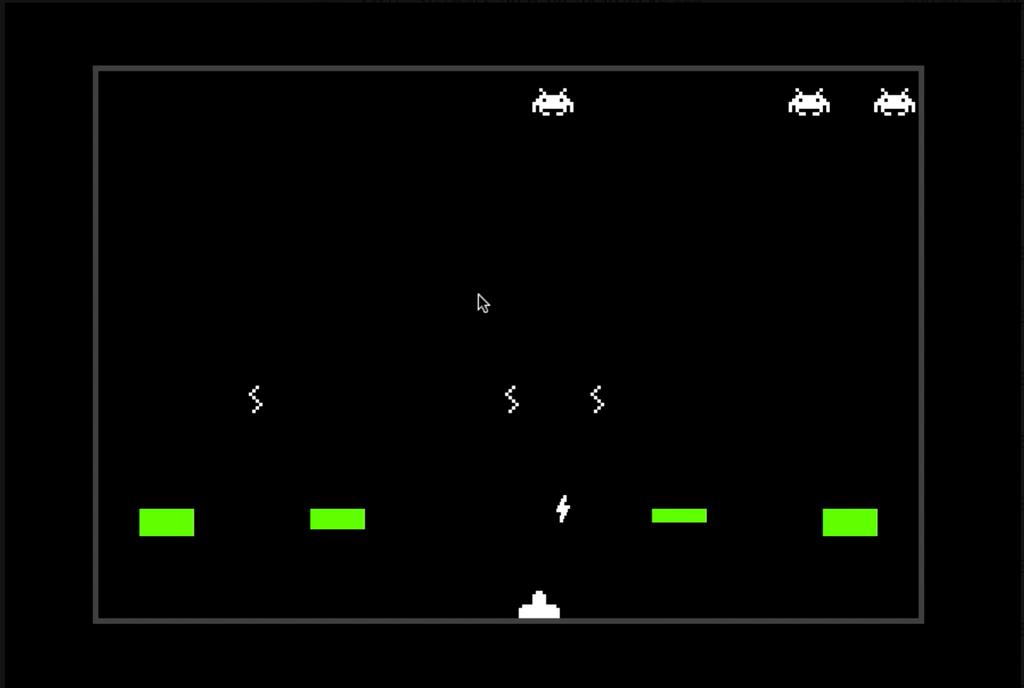 インベーダーゲームの画像